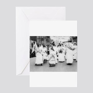 Suffragettes Greeting Card