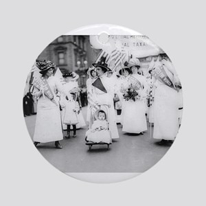Suffragettes Ornament (Round)