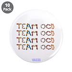 """Team Ocd Button 3.5"""" Button (10 Pack)"""