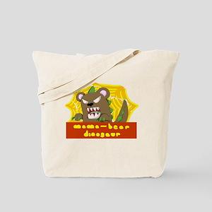 MamaBearDino Tote Bag