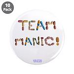 "Team Manic! 3.5"" Button (10 Pack)"