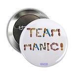 "Team Manic! 2.25"" Button (100 Pack)"