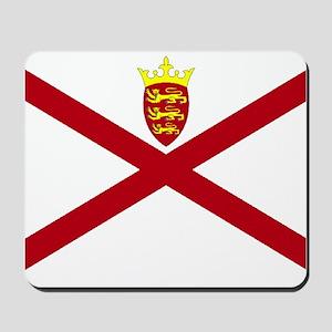 Jersey flag Mousepad