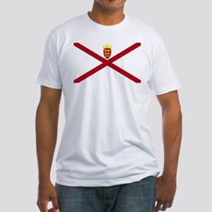 Jersey flag Fitted T-Shirt
