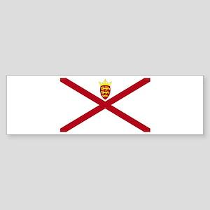 Jersey flag Bumper Sticker