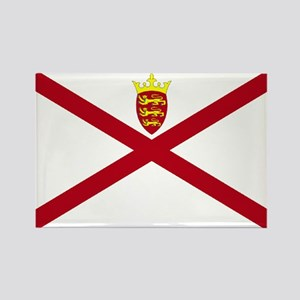 Jersey flag Rectangle Magnet