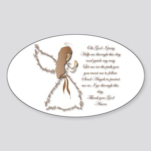 Life is fragile Angel Sticker