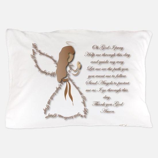 Life is fragile Angel Pillow Case