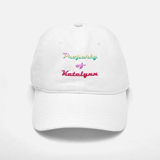 Property Of Katelynn Female Baseball Baseball Baseball Cap