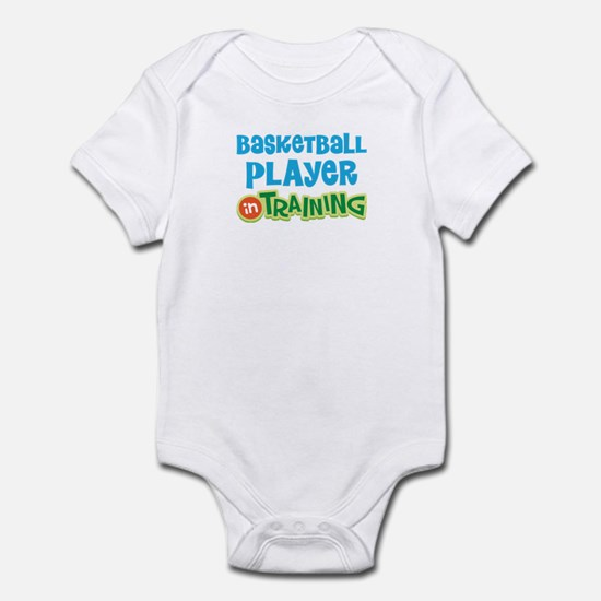 Basketball player in training Infant Bodysuit