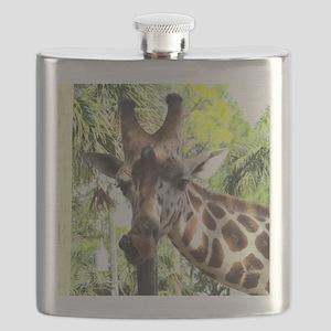 WILD GIRAFFE Flask