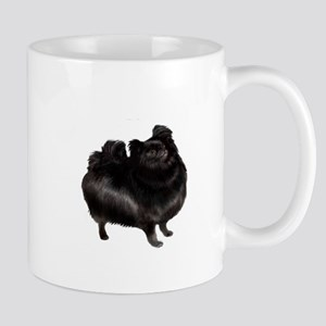 Pomeranian (blk) Mug