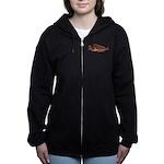 Pacific Wolf Eel tc Women's Zip Hoodie