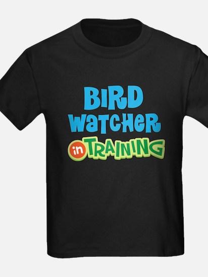 Bird watcher in training T