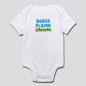 Bocce player in training Infant Bodysuit