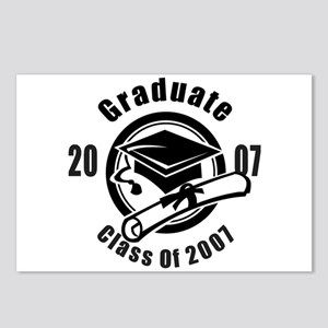 Graduation Class Of 2007 Postcards (Package of 8)