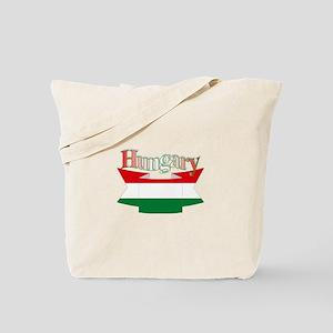 Hungary flag ribbon Tote Bag