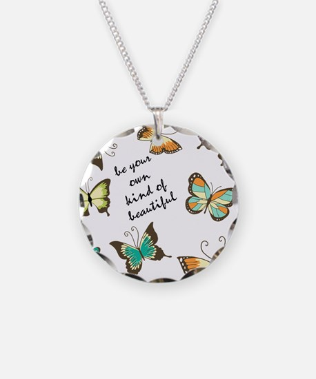 Be Your Own Beautiful Butterflies Necklace