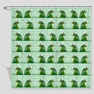 Froggie Shower Curtain