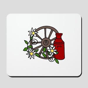 Wagon Wheel Mousepad