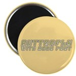 Butterfly with Sore Feet Magnet