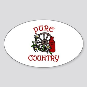 Pure Country Sticker