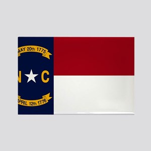 North Carolina State Flag2 Magnets