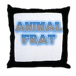 Animal Frat Throw Pillow