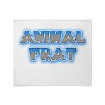 Animal Frat Throw Blanket
