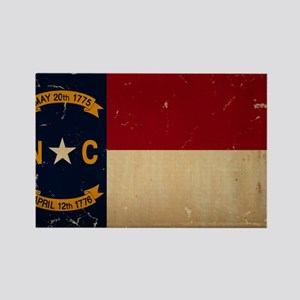 North Carolina State Flag VINTAGE Magnets