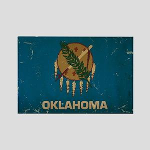 Oklahoma State Flag VINTAGE Magnets