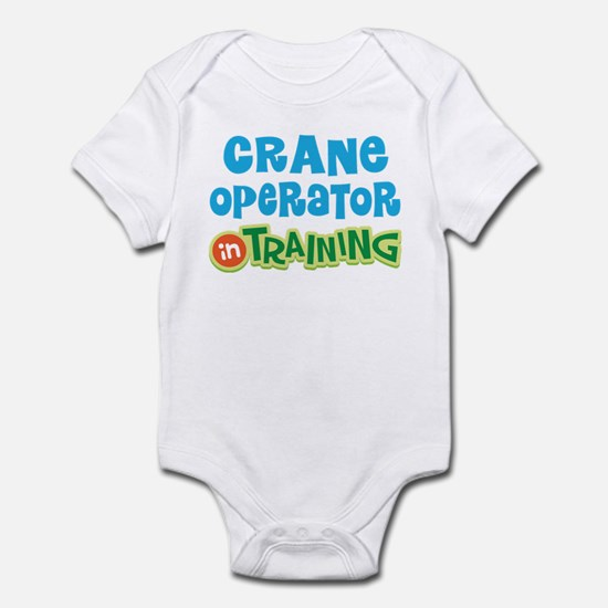 Crane operator in training Infant Bodysuit