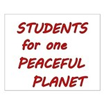 Students for one Peaceful Planet Posters