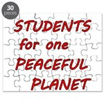 Students for one Peaceful Planet Puzzle