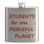 Students for one Peaceful Planet Flask