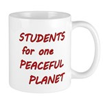 Students for one Peaceful Planet Mugs