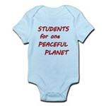 Students for one Peaceful Planet Body Suit
