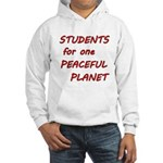 Students for one Peaceful Planet Hoodie