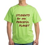 Students for one Peaceful Planet T-Shirt