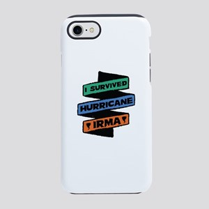 I Survived Hurricane Irma iPhone 7 Tough Case
