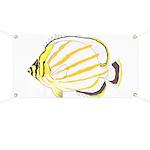 Ornate Butterflyfish Banner