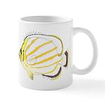 Ornate ButterflyFish C Mugs