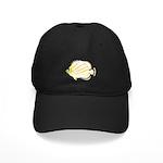 Ornate ButterflyFish C Baseball Hat