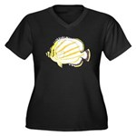 Ornate ButterflyFish C Plus Size T-Shirt