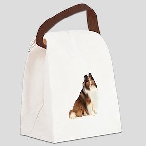 Shetland Sheepdog (sw7) Canvas Lunch Bag