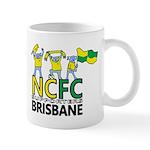 NCFC Supporters Brisbane Logo Mug
