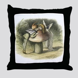 A Fairy Kiss Throw Pillow