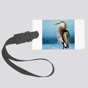 Great Blue Heron Luggage Tag