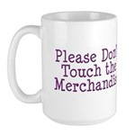 Don't Touch Merchandise Large Mug