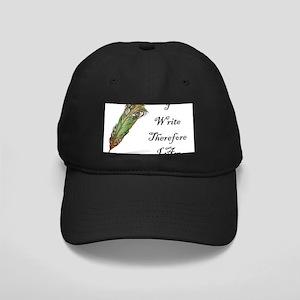 I Write Therefore I Am Baseball Hat
